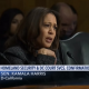 Kamala Harris questioning the ICE nominee