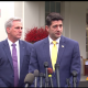 Ryan speaks to reporters after meeting with Trump on border security