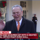 Schumer with reporters after WH oval office meeting