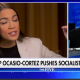 Ocasio cortez and Greg Gutfeld