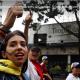 Venezuelans demonstrated against President Nicolás Maduro