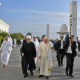 Pope Francis with Ahmed el-Tayeb, the Grand Imam of al-Azhar,