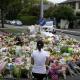New Zealand Shooting memorial flowers